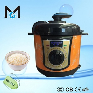 small multifunction electric cast iron pressure cooker