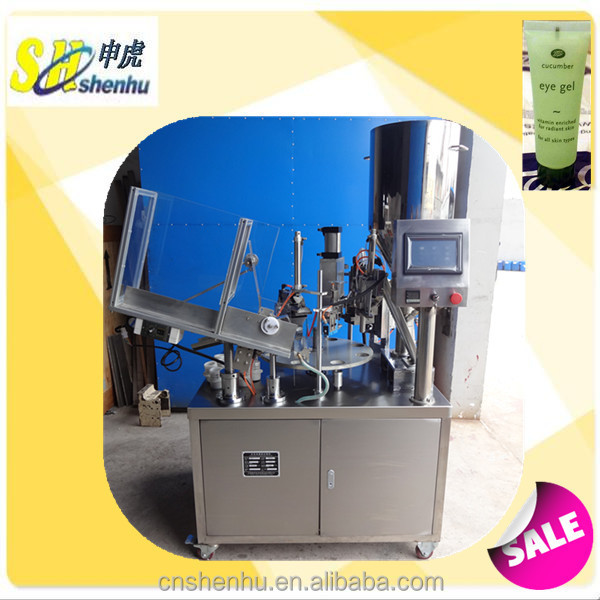 eye gel,toothpaste tube filling and sealing machine