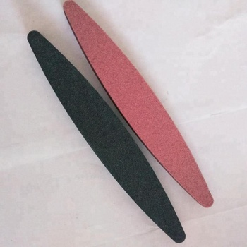 piedra de afilar para cuchillos. Piedra de afilar ovalada de 230 mm