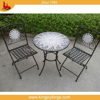 Garten Keramik Bistrotischceranfeld Tischkeramik Gesicht Tisch Und