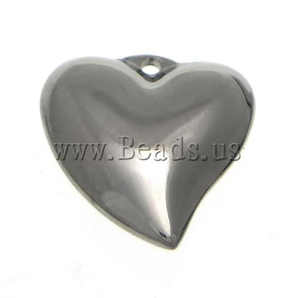 Free shipping!!!Stainless Steel Jewelry Pendants,2013 designer brand women, Heart, oril color, 16x16x5mm, Hole:Approx 1.5mm