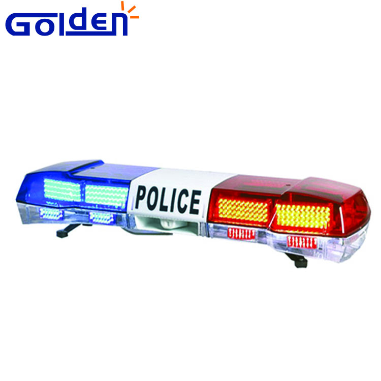Red blue Security vehicle car mount emergency warning strobe led police roof lightbar
