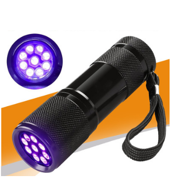 Gentle Rechargeable Mini Ultraviolet Uv Flashlight 365nm Black Light Uv Torch 395nm Use 14500 Or Aa Batttery Choice Materials Led Flashlights Lights & Lighting