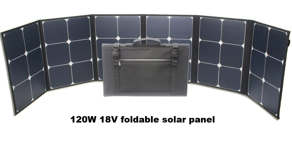 China Manufacturer 100w 18v Sunpower Portable Foldable
