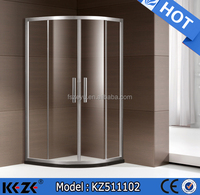 professional shower sliding door/modular bathroom