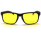 hot new black frame yellow lens night safety Sports Sunglasses