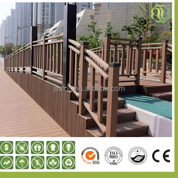 venta al por mayor barandillas de madera para exterior On barandilla de escalera de madera al aire libre