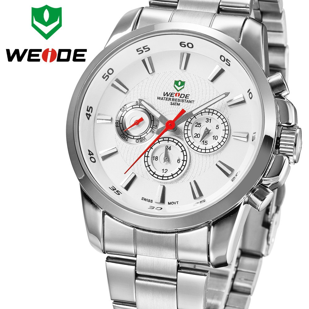 WEIDE 2015 International Top 10 Luxury Wrist Watch Brands Watches