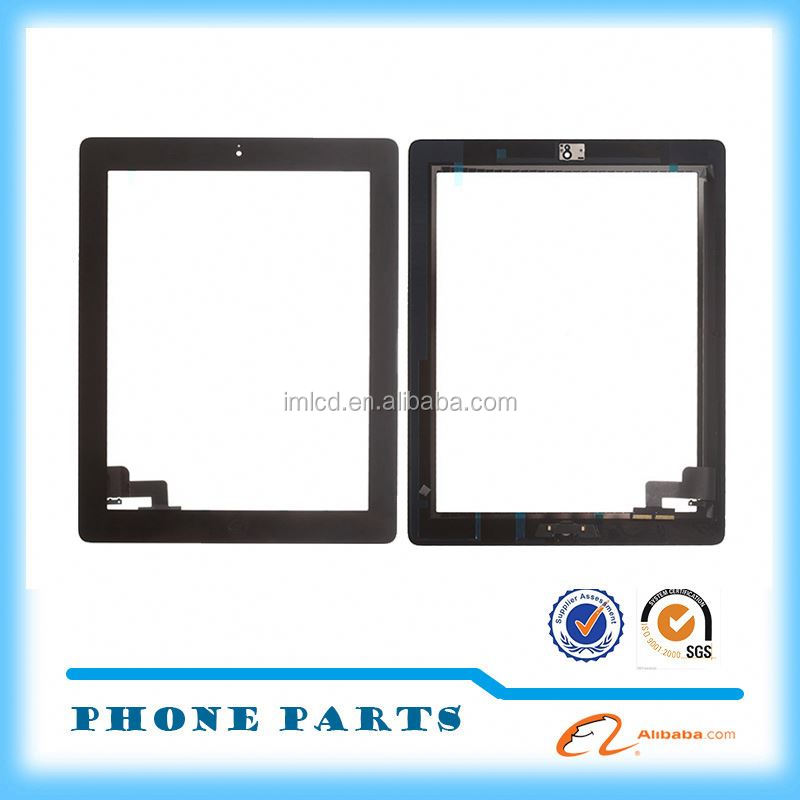 touch digitizer spare parts for iPad 2 screen made in China alibaba
