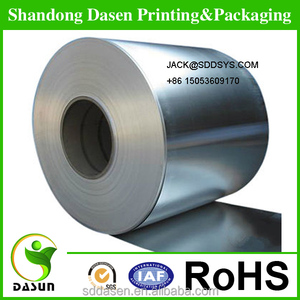 90gsm Silver Metallic Paper Roll For Offset Printing