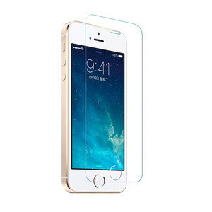 Trade Assurance Supplier 9H Shatterproof Tempered Glass Screen Film For Apple iPhone 5S Glass Screen Protector