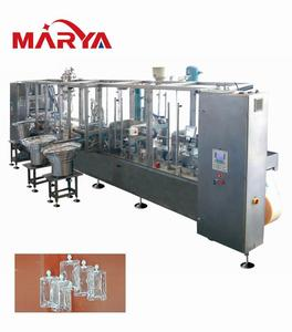 GMP standard soft bag dextrose iv fluid plant turnkey project for pharma