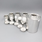Empty metal tin cans containerScrew top with dauber/mane brush for PVC /adhesive solvent