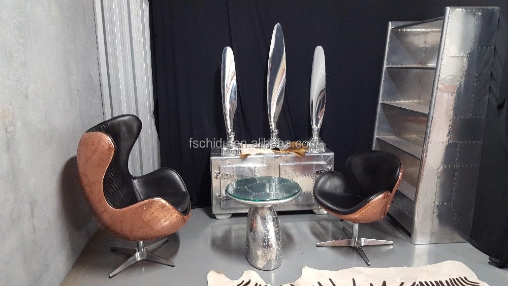 Copper Tomcat egg chair, office chair