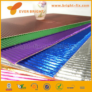 2014 China Supplier corrugated paper sheets/corrugated paper chairs