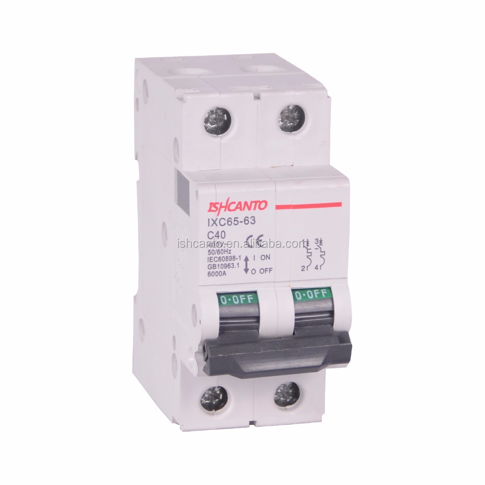 Double pole circuit breaker home use from top 10 circuit breaker manufacturer in China