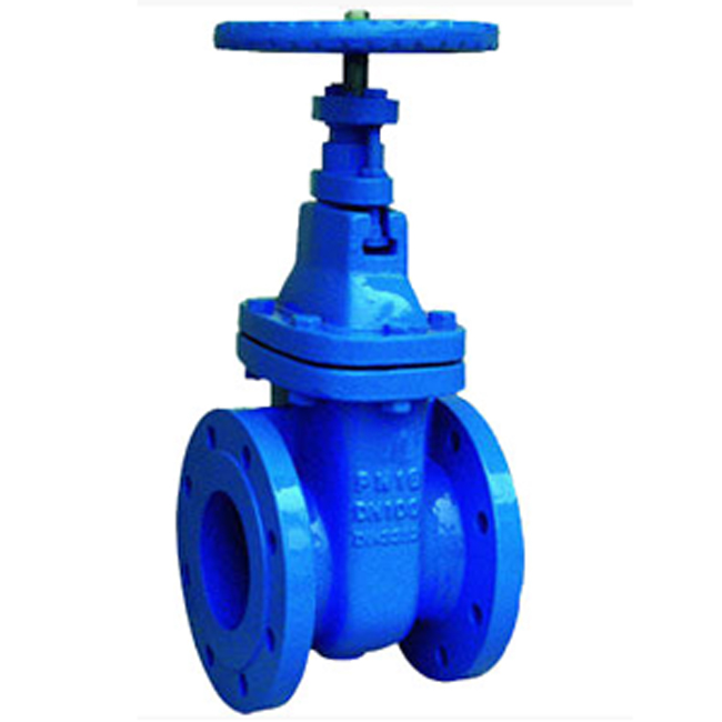 DIN 3352 RESILIENT SEAT 250 mm GATE VALVE