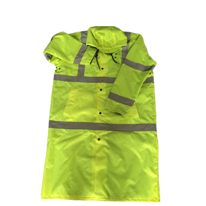 reflective with 120gsm Fluo yellow fabric Safety Vest for road workwear
