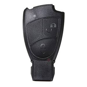 New 2 Button Replacement Remote Key Fob Case For Mercedes Benz C E S Class by Bcn