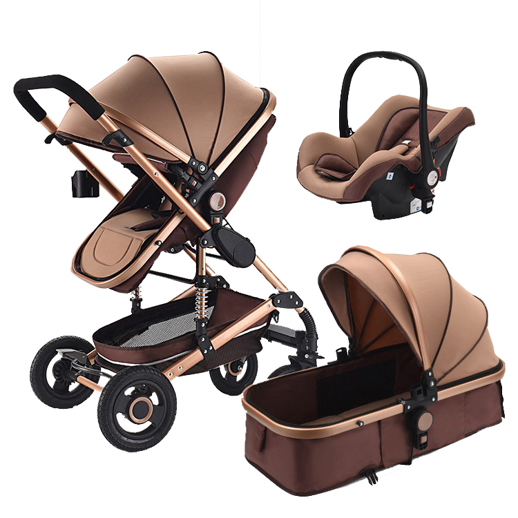 Hot selling baby stroller and baby push chair 3 in 1 baby doll stroller