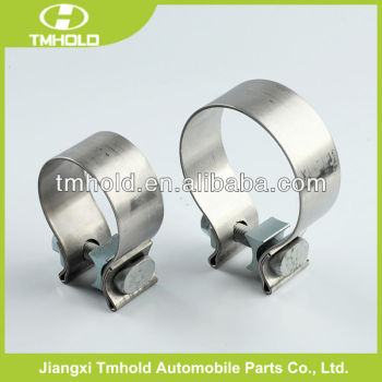 strong pressure sanitary exhaust silencer clamps with M8 screw/nut