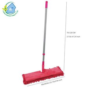 360 spin Chenille Microfiber Double Sides easy telescopic floor flat mop items