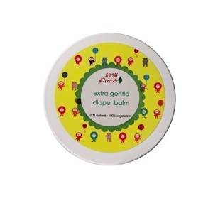 100% Pure Extra Gentle Diaper Balm, 3.4 Ounce by Unknown
