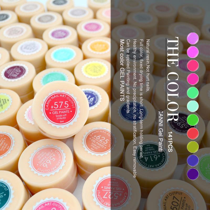 50618w Nail Art Design Color Gel Canni Supply Soak Off Gel Uv Led ...