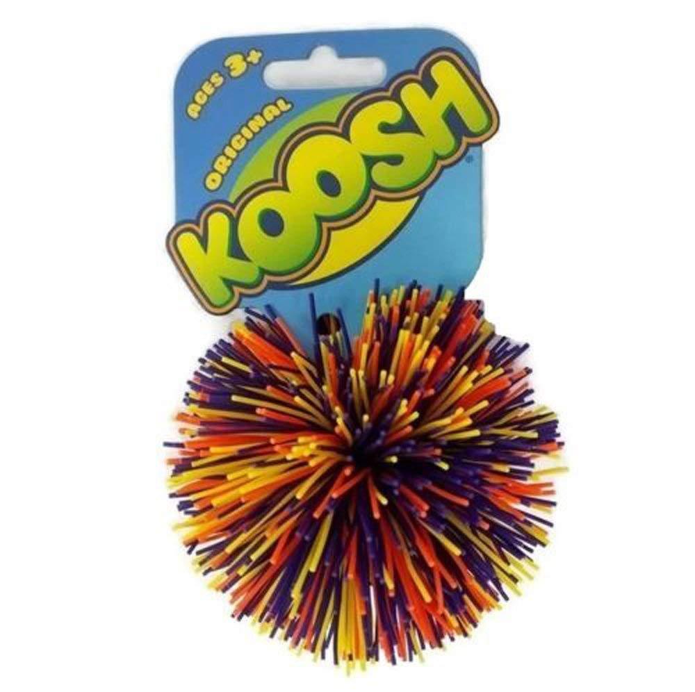 (1) Oddzon Hasbro Koosh Ball Fidget Autism Dyslexia Special Need Natural Latex (Yellow, Orange, Purple Confetti)