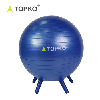 Topko Wholesale Logo Printing Anti Burst Gym Yoga Ball Fitness Ball Chair Buy Fitness Ball Chair Yoga Ball Anti Burst Yoga Ball Base Product On