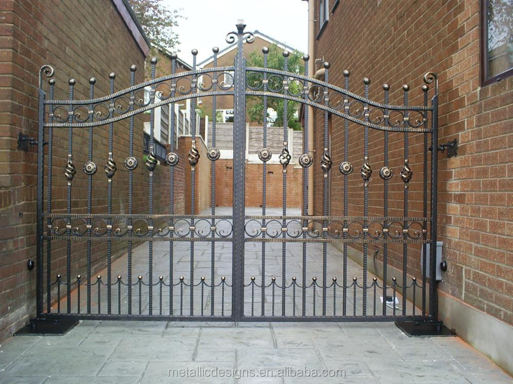 Stainless Steel Automatic Entrance Modern Sliding Gate