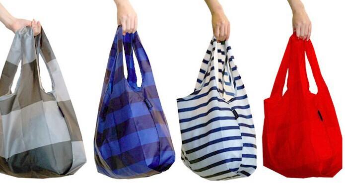 Folding Nylon Tote Bag Folding Bag Into Pouch Shopping Bag