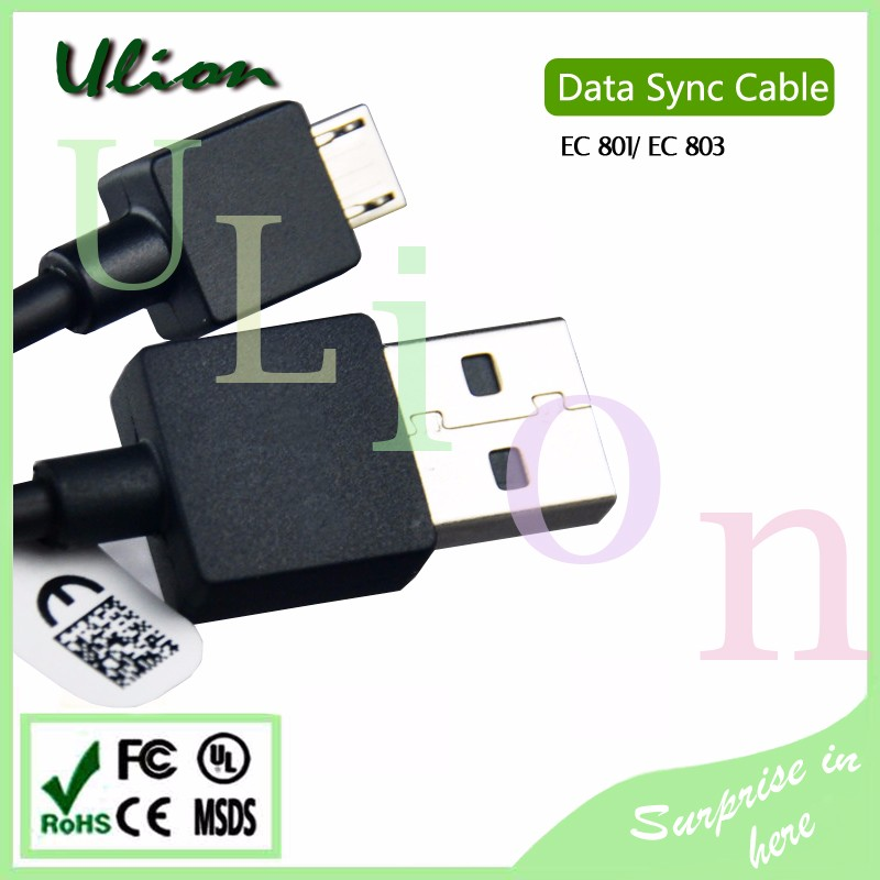 Original EC801 Micro USB Data Sync+Charging Cable For Sony Xperia Z L36H