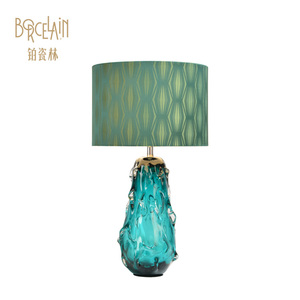 Moroccan European wholesale handmade lamps tiffany stained glass table lamp
