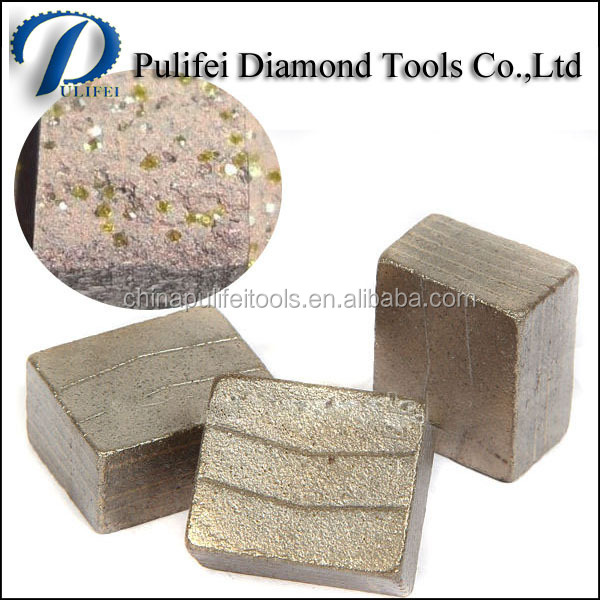 Cutting Tools Diamond Segment And Marble Segment For Marble Cutting Blade