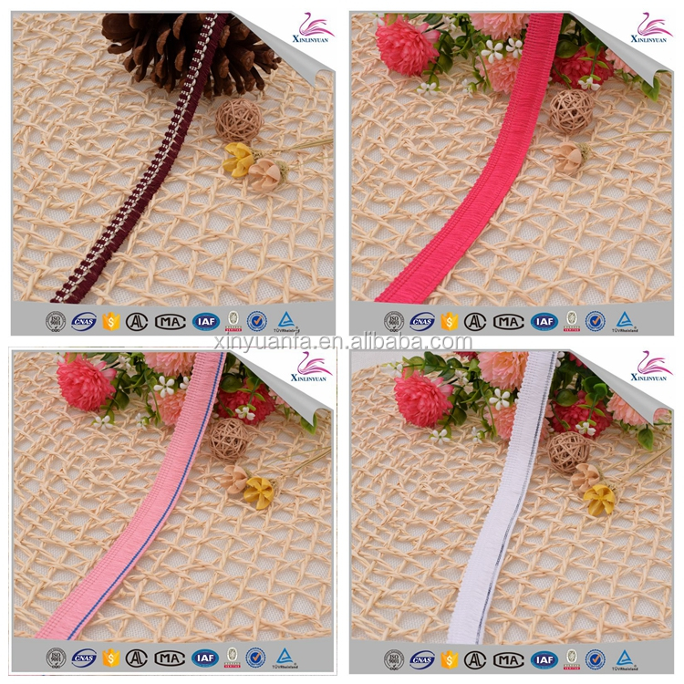 Factory price polyester tassel chain fringe trimming