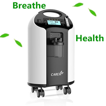 Medical health care used breathing apparatus power portable oxygen concentrator for home/car/airplane