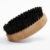 2020 High quality 100% bamboo handle beard care round hair beard brush