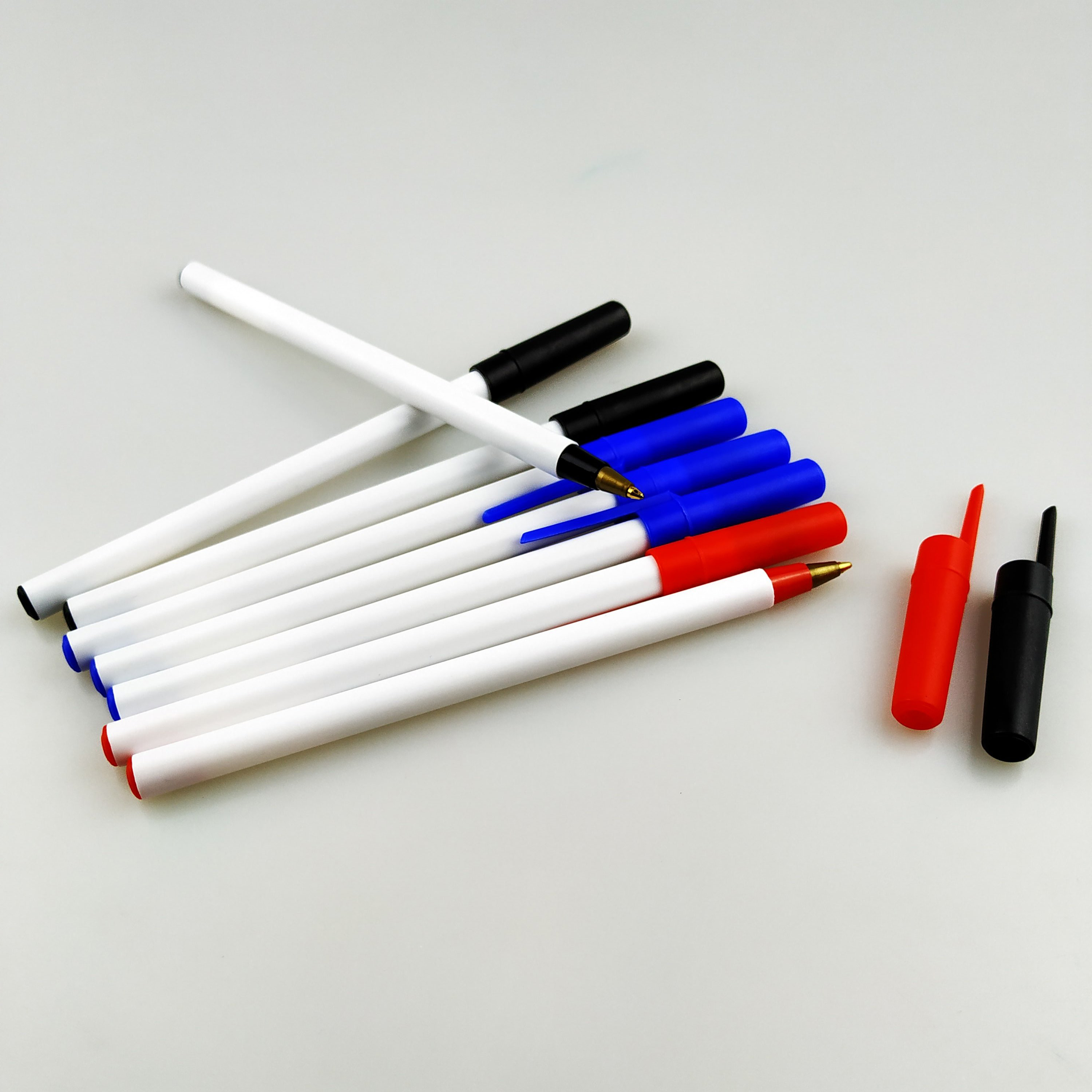 stationery writing pp material plastic cheap pen from china factory direct