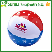 Promotional customized logo printing inflatable pvc beach ball