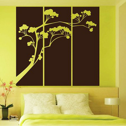 Tree Wall Sticker Bedroom Furniture Decor Japanese Living