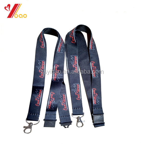 2017 hot selling cheap polyester neck lanyard