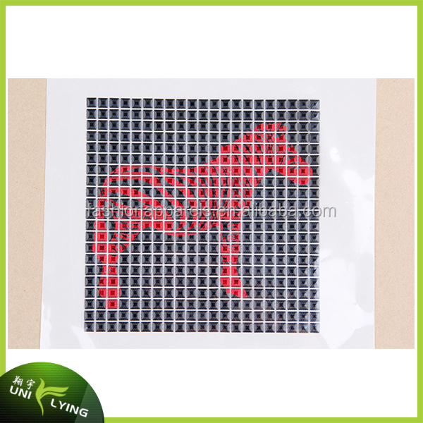 Nailhead laser metal cut printing iron on Motif for garment