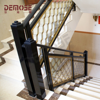 Simple En Fer Forgé Rampe D\'escalier Intérieur Design - Buy Rampes  D\'escalier Intérieures En Fer Forgé,Garde-corps En Fer Forgé Pour Escaliers  ...