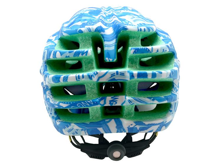 Goggle available aero race road helmets 9