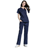 Doctor Short Sleeve Medical Scrub Uniforms Nursing Uniforms