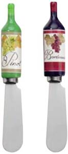Boston International Ideal Home Range Spreader Set, Wine Bottle by Ideal Home Range