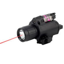 200 Lumen Tactical Combo 2in1 Tactical LED Flashlight / LIGHT +Red Laser / Sight Combo Brand New arrival