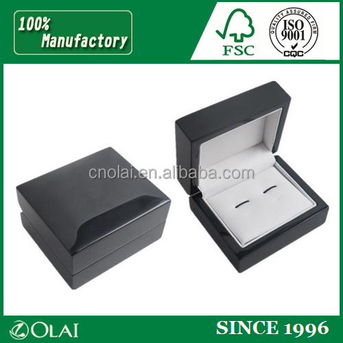 Luxury popular wood cufflink box for package