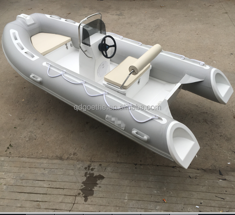 RIB390 Goethe CE Certificate Rigid Inflatable <strong>Boat</strong> with Steering Console